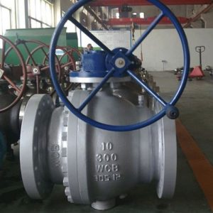Two Piece Ball Valve Trunnion Mounted